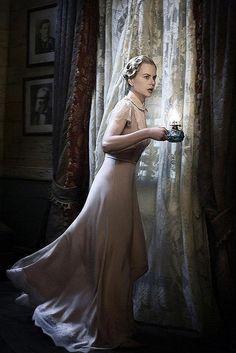 Nicole Kidman as Lady Sarah Ashley in movie Australia Nicole Kidman, Hugh Jackman, Australia Movie, Cinema, Naomi Watts, Fashion Images, Film Fashion, 40s Fashion, Movie Costumes