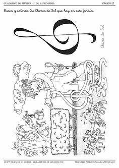 Dibujos De Notas Musicales Para Colorear Dibujos Para
