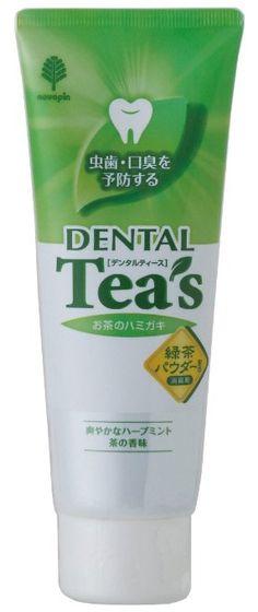 Green Tea Toothpaste