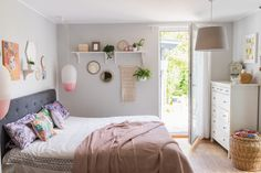 Dekoideen Für Feminine Sommerdeko Im Schlafzimmer Im Scandi Boho Look In  Pastellfarben Und Naturtönen Mit Deko
