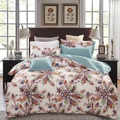 home d?cor diy 4pcs Luxury Bedding Set Queen Size 100% Egyptian Cotton Sheets Bedclothes Duvet Cover Bed Sheet Set Wedding Bedding Bed Linen -*- AliExpress Affiliate's buyable pin. Locate the offer on www.aliexpress.com simply by clicking the VISIT button