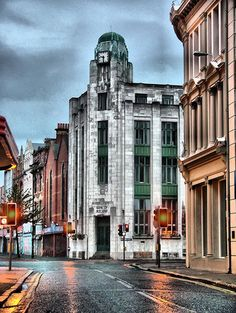 Belfast, Ireland. Actually, found it more charming than Dublin.