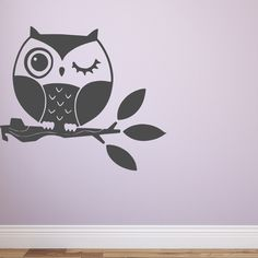 Add some cuteness to any room with ourDreamy Owl! Bring your walls to life with our removable vinyl wall decals!