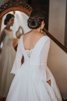 The professional tailors from wedding dress manufacturer custom this ball gown wedding dress with any sizes and many other colors.Contact us to custom wedding dress online. Custom Wedding Dress, Wedding Dress Sleeves, Dream Wedding Dresses, Bridal Dresses, Wedding Gowns, Dream Dress, Wedding Styles, Marie, Ball Gowns