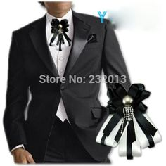 Cravat Tie, Women Bow Tie, Wedding Preparation, Ribbon Crafts, Groom And Groomsmen, Ring Earrings, Gotham, Mens Suits, Couture