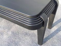 Art Deco Coffee Table by MartinThallerDesigns on Etsy, $960.00