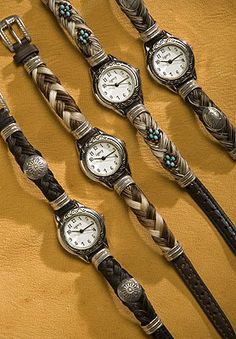 Horse hair watch... I have one that I purchased in Utah...