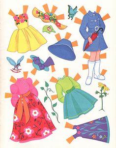 Alice in Wonderland Paper Dolls by Sherri DuPree Bemis, via Flickr