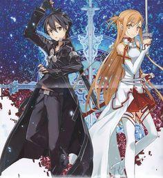 Sword Art Onlines  Kirito and Asuna