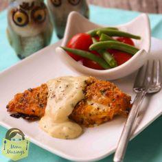 Menu Musings of a Modern American Mom: Ritzy Cheddar Baked Chicken