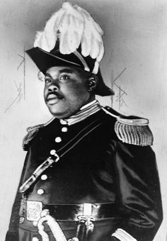 Charismatic Black nationalist & political leader of the Back to Africa Movement Marcus Mosiah Garvey