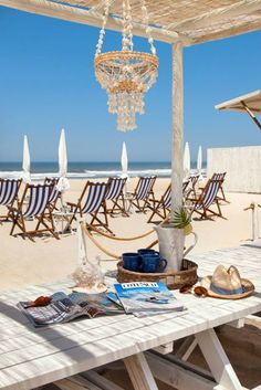 Quebramar Beach Club - Costa Nova beach, Aveiro, Portugal