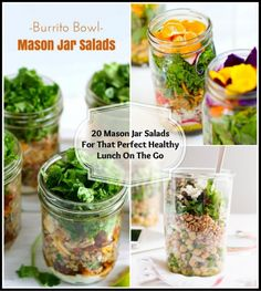 20 Mason Jar Salads For That Perfect Healthy Lunch On The Go