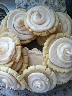 These are FABULOUS!!!!  I will definitely be making these over and over!  I doubled the cookie recipe and made a single batch of frosting and it was the perfect amount of frosting-even with my kids putting generous portions of frosting on:)