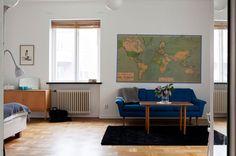 love this studio apartments setup