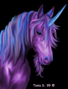 A fantasy unicorn under a rainbow 4882075 Unicorn And Fairies, Unicorn Fantasy, Unicorn Horse, Unicorns And Mermaids, Unicorn Art, Magical Unicorn, Fantasy Art, Purple Unicorn, Rainbow Unicorn