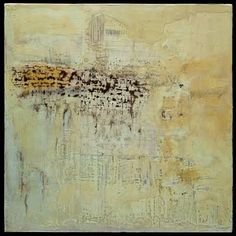 """Lisa Pressman, """"Notes."""" Recently Pressman has is working on larger oils, but I especially like this encaustic piece from 2009."""