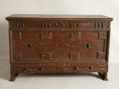 Pilgrim chest with changes sold by Garth's  auction a few years ago.