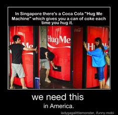 hugs for drugs..well since caffeine is a drug