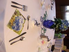 Table Top to match the Navy and Lime Green theme!