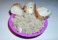 Halas krém Husitól Oatmeal, Breakfast, Food, The Oatmeal, Morning Coffee, Rolled Oats, Essen, Meals, Yemek
