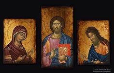Orthodox Icons 03 on Behance Orthodox Icons, Christ, Behance, Painting, Art, Art Background, Painting Art, Kunst, Paintings