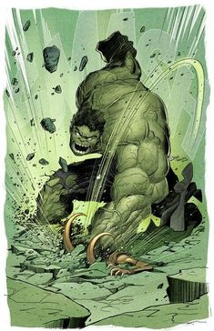 One of everyone's favorite scenes in The Avengers is when Hulk went ballistic on Loki, as he repeatedly smashed him on the floor. Here's an awesome piece of Hulk fan art inspired by that scene that was created by raultrevino. Hulk Marvel, Marvel Comics, Comics Anime, Arte Dc Comics, Marvel Heroes, Spiderman, Hulk Avengers, Comic Book Characters, Marvel Characters