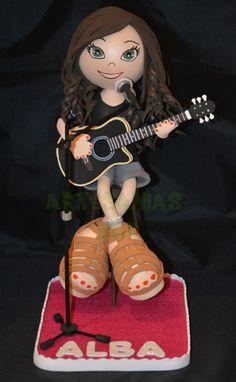 Fofucha guitarrista