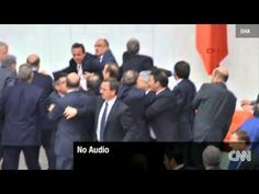 Turkish Politicians Fight Then Pass Law In Instabul