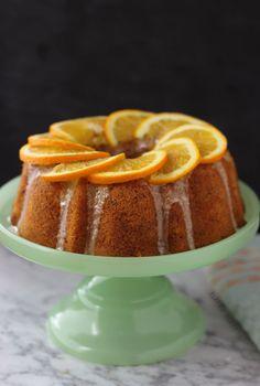 Orange Hazelnut Cake