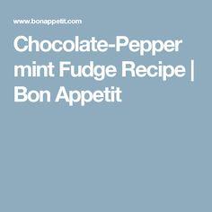 Chocolate-Peppermint