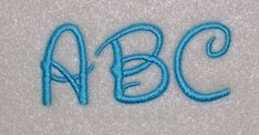Disney Script Embroidery Machine Alphabet Monogram Font by kayelee, $6.50
