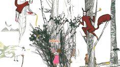 """""""Ein Bilderbuch, das zum Schauen und Staunen einlädt. ... Eines, das sich bei weitem nicht nur an Kinder richtet, sondern an alle, die besondere Bilder und ihre Geschichten zu schätzen wissen."""", Rezension zu Stefanie Harjes: 'Als die Esel Tango tanzten ...' von Marlene Zöhrer auf Sueddeutsche.de"""