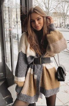 Cute Casual Outfits, Winter Fashion Outfits, Look Fashion, Stylish Outfits, Autumn Fashion, Fashion Clothes, Summer Outfits, Fall Winter Outfits, Dresses In Winter