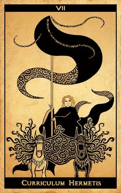 The Chariot - The card represents resolving conflicts within oneself and for finding the necessary balance to accomplish your ambitions