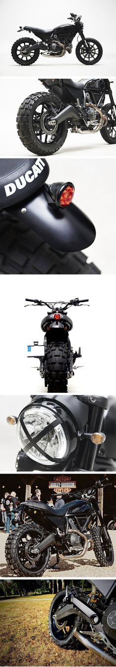 "Ducati Scrambler "" The Dark knight "" – Thomis Motorcycles"