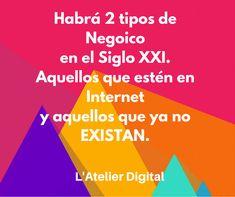 Visita nuestra página Socios Estratégicos para tu negocio. Marketing Digital, Frases, Business, Atelier