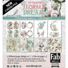 Fabscraps Floral Dreams Card Kit