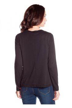 Camiseta manga larga estilo pin-up - Camisetas Mujer | Rosalita McGee