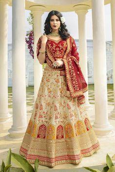 #lehenga #saree #lehengacholi #fashion #indianwedding #indianwear #ethnicwear #wedding #indianfashion #indianbride #bridallehenga #onlineshopping #kurti #lehengalove #bridalwear #weddingdress #designerlehenga #designer #lehengas #bridal #weddinglehenga Bridal Lehenga Online, Lehenga Choli Online, Bridal Lehenga Choli, Silk Lehenga, Anarkali, Saree, Silk Dupatta, White Satin, Silk Satin
