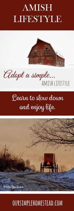 Amish Lifestyle - Learning to slow down and enjoy life can seem overwhelming, but with just a few small changes, you can live that simple Amish lifestyle you dream of.