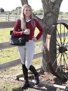 Equestrienne | Model wearing Ariat boots | fervent-adepte-de-la-mode | Flickr