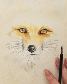 """Watercolor by Maria Pirogova @marysimpledesign """"Mi piace"""": 39, commenti: 3 - Mary (@marysimpledesign) su Instagram: """"Process #colorful #color #watercolor #watercolorpainting #draw #drawing #drawings #sketch #sketches…"""""""