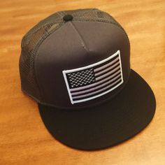 b828d50d3cff0 Black and White AMERICAN FLAG Charcoal with by RogueCitizenApparel