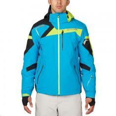Spyder Titan Jacket Herren Skijacke blau grün – #spyder #skibekleidung #outlet #sporthausmarquardt