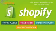 Get the best Shopify Development Services In Indore provided by conative IT Solutions. A Shopify developer will help you establish your online store. Shopify allows owners of online stores to display their products, accept credit card payments and more.  For more information visit on this site:  http://www.conativeitsolutions.com/services/web-development/