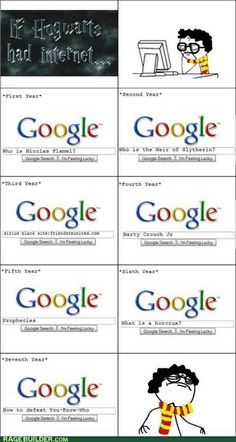 If Hogwarts had Google