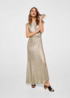 Knot asymmetric dress - Women cf78a23d3f