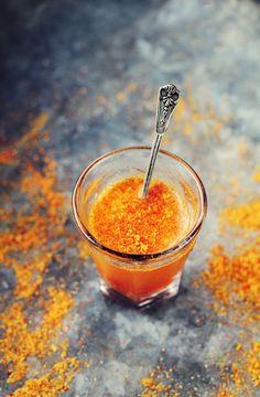Nyponshot - Hemmagjort Nyponpulver + Äppeljuice - Evelinas Ekologiska / Homemade Rosehip Powder + Apple Juice