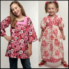 Baby Doll Top & Dress Sizes 1-12yrs   YouCanMakeThis.com
